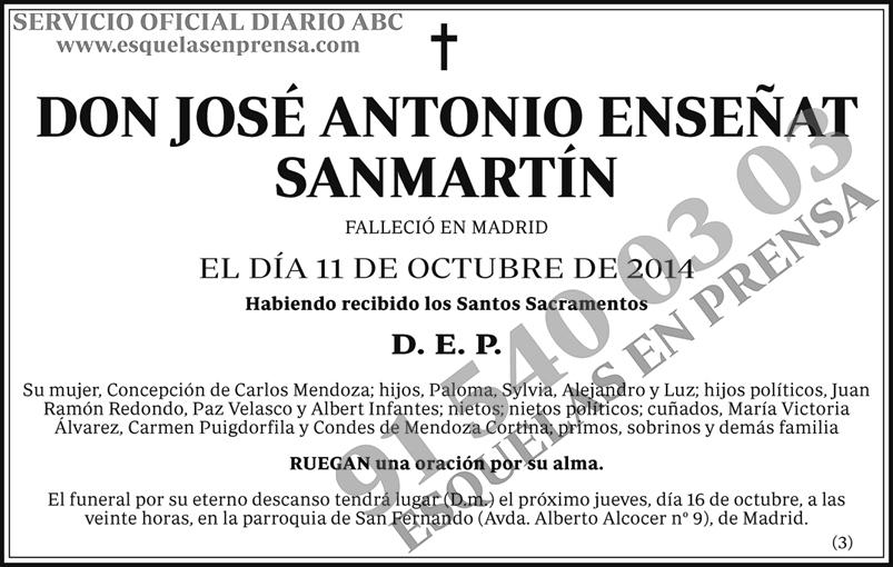 José Antonio Enseñat Sanmartín